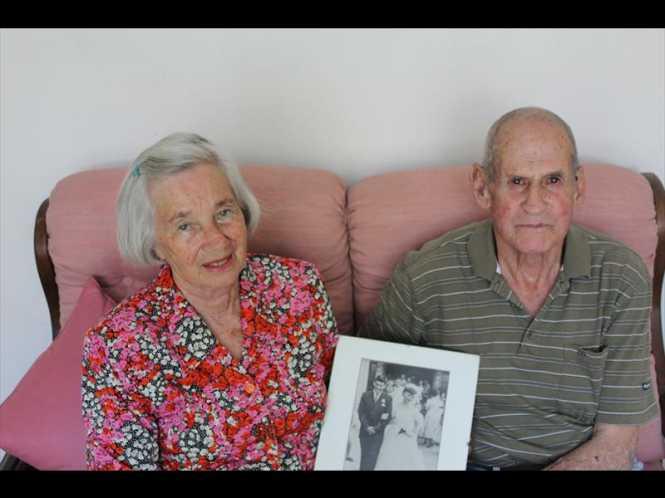 Hilda and Dennis Dawes.