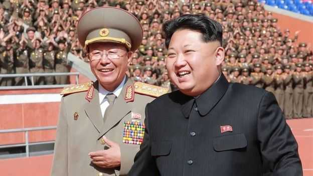 Gen Ri (left) was executed earlier this month, according to South Korean media
