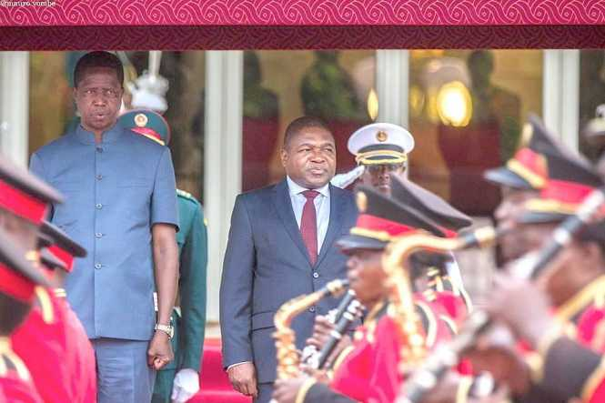 President Edgar Chagwa Lungu to Mozambique on Thursday, March 17,2016