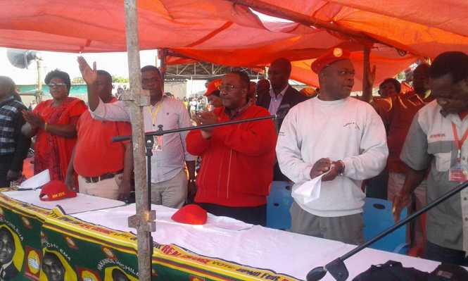 UPND rally at Changanamai grounds in Kitwe