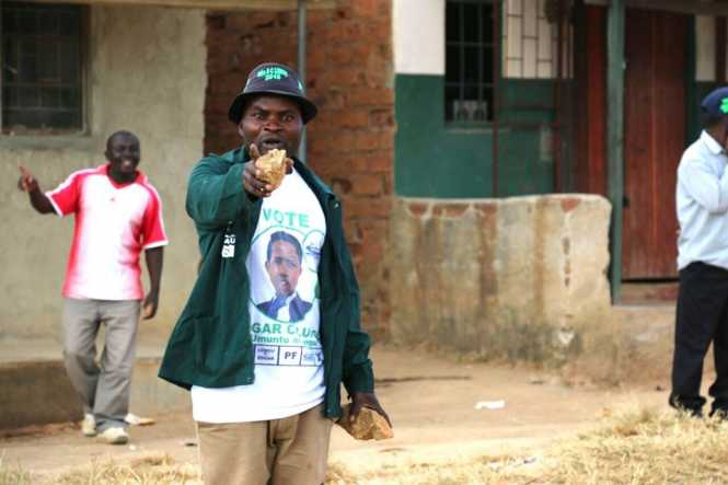 PF cadres launch attack against UPND President Hakainde Hichilema