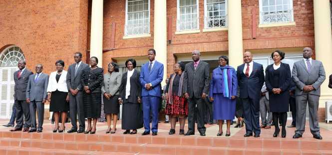 PRESIDENT LUNGU SWEARS IN 8 APPEAL COURT JUDGES - Picture by EDDIE MWANALEZA