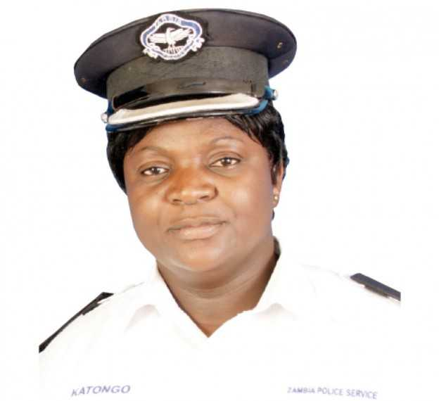 Police assistant public relations officer Esther Katongo