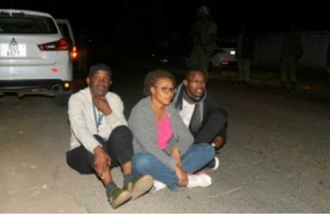 Police deny beating M'membe, two others