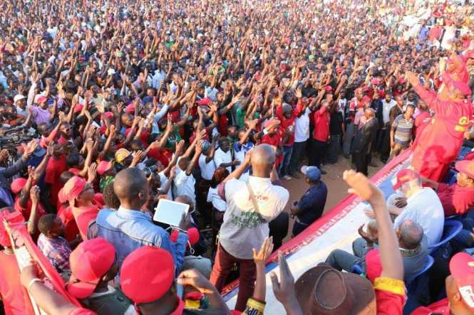 We were overwhelmed by the support we received in Kasama - UPND 2016