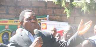 Hakainde Hichilema, UPND press briefing