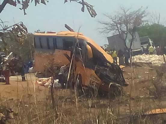 Two people out of the twenty two people who perished in Power Tools Bus accident in Serenje are Congolese