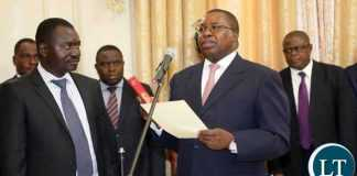 AU Commission for Trade and Industry commissioner , Zambian Ambassador Albert Muchanga
