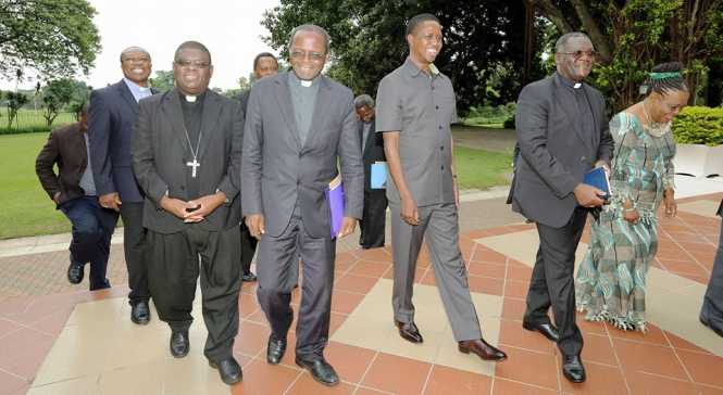 PRESIDENT LUNGU HOLDS SUCCESSFUL MEETING WITH CATHOLIC BISHOPS