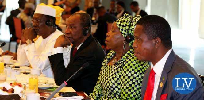 PRESIDENT LUNGU HOSTS HIGH LEVEL BREAK FAST TO END CHILD MARRIAGE