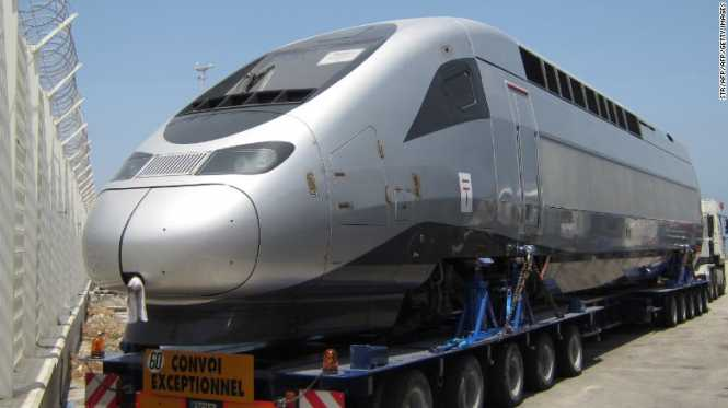 The TGV high-speed train are being tested on Morocco's Atlantic coast.