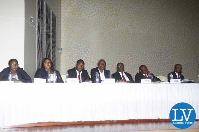 FAZ secretariat members of the staff busy following the proceedings.