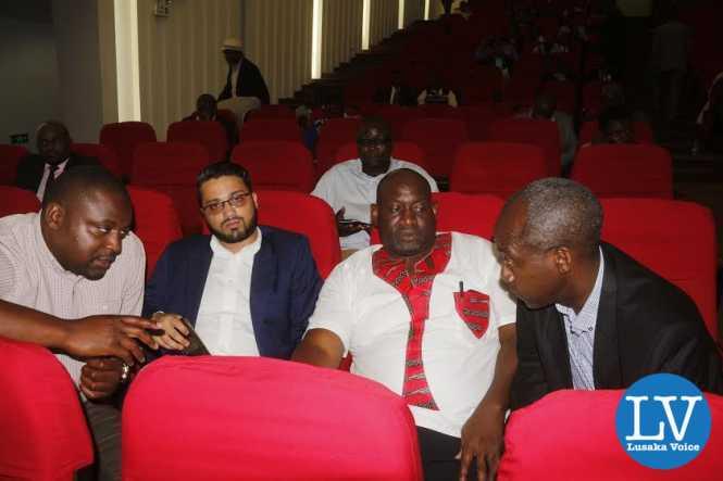 Lusaka Dynamos Elite delegates.