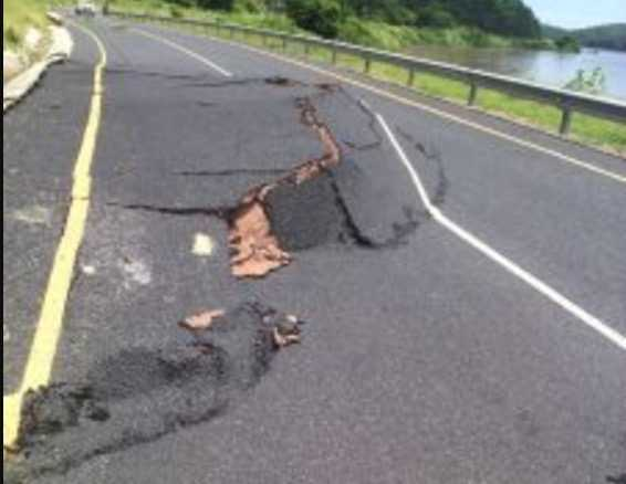 Luangwa-Feira road damaged