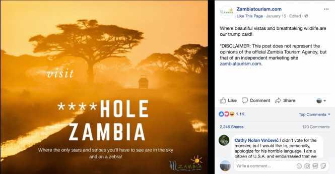visit ****hole Zambia