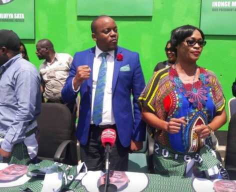 PF Deputy Secretary General Mumbi Phiri today received Former FDD Spokesperson,Antonio Mwanza and welcomed him to the party