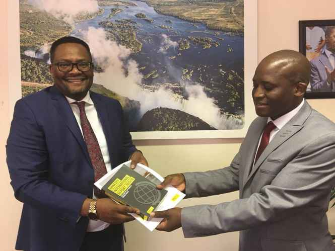 Emmanuel Mwamba meets Amnesty International