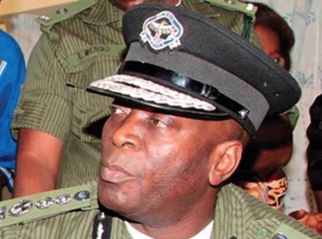 Kakoma kanganja - Inspector General of police