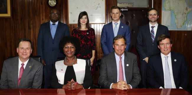 US INVESTORS SEEK LINKS WITH ZAMBIA'S PRIVATE SECTOR