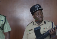 Police Spokesperson Esther Katongo