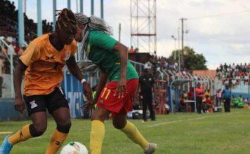 Zambia 2-1 Cameroon