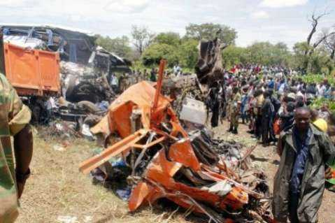Chibombo Accident - Pix source jeuneafrique.com