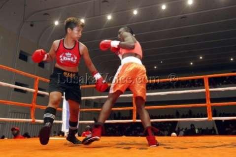 WPBF championship title Catherine Phiri fight