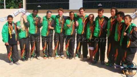 CANA Zone 3 & 4 Championships -TEAM ZAMBIA - by   LuakaVoice.com