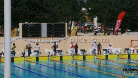 CANA Zone 3 & 4 Swimming Championships, Lusaka, Zambia 25 -28 April 2013  -   LuakaVoice.com