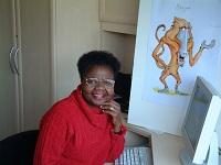 Esnat Avon. Bongwe author and founder of charity CONTESA.