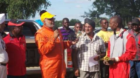 Zambia First National rally  Trophy Ceremony -Lusakavoice.com