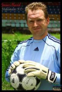 Former Scottish Div 1 side Alloa Athletic player, James Baird - Lusakavoice.com