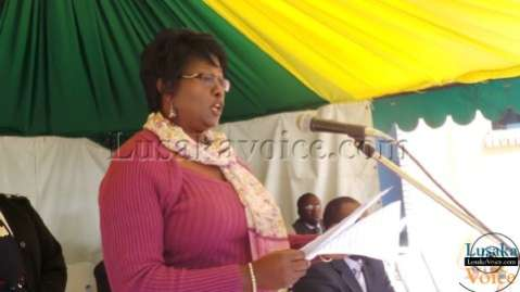Minister of Local Government and Housing, Emerine Kabanshi LuakaVoice.com