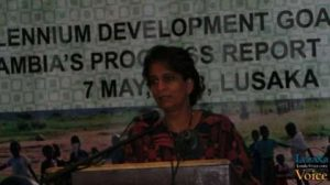 United Nation development Program resident representative Kanni Wignaraja