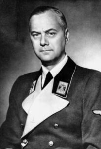 Alfred Rosenberg (1893-1946). Rosenberg was an influential member of the Nazi Party, including its theory on race.