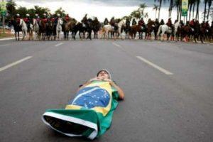Crackdown on Brazil protests