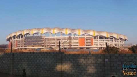 Lusaka Stadium  in Pictures