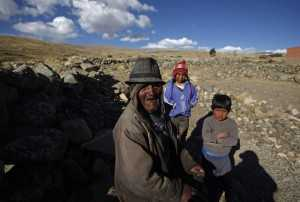 If Bolivia's public records are correct, Carmelo Flores Laura is the oldest living person ever documented. They say he turned 123 a month ago. The native Aymara lives in a straw-roofed dirt-floor hut in an isolated hamlet near Lake Titicaca at 13,100 feet (4,000 meters), is illiterate, speaks no Spanish and has no teeth