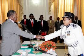 INSPECTOR-GENERAL of Police Stella Libongani
