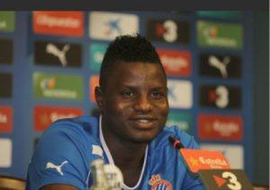 Ghana midfielder Mubarak Wakaso