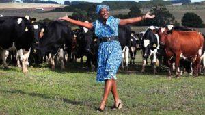 Zambian farmer Inonge Mubanga Samboko