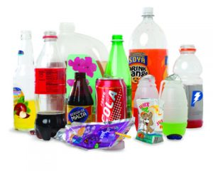 carbonated and sweetened beverages