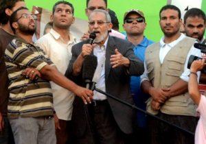 The Brotherhood's spiritual guide, Mohammed Badie