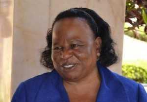 Acting Chief Justice Lombe Chibesakunda