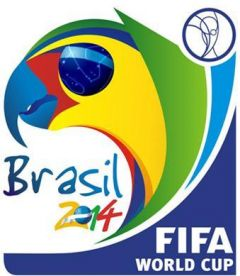 The 2014 World Cup banner