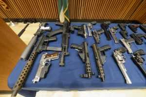 guns were smuggled from Walter Walker of Sanford North Carolina, and Earl Campbell of Rock Hill, South Carolina, in the luggage of several Chinatown-based discount buses