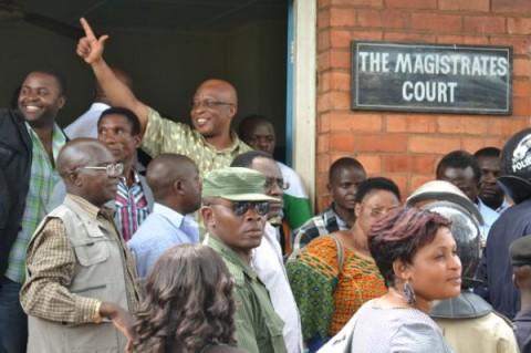 Nevers Mumba at the Court