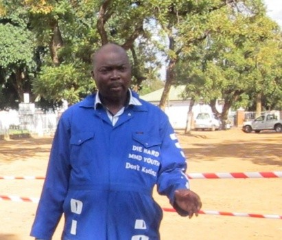 MMD Die Hard Youth Wing National Coordinator Bowman Lusambo