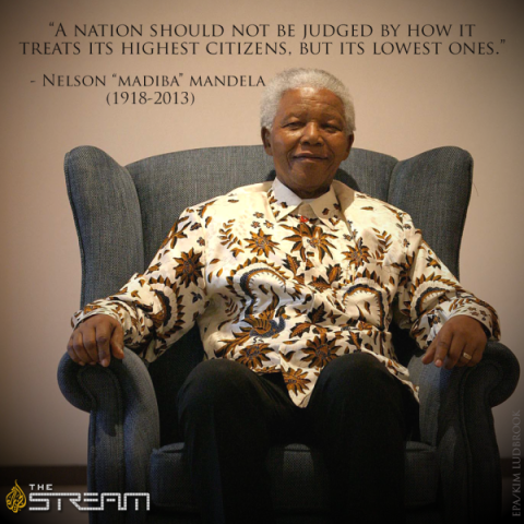 A nation should not be judged...