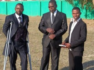 Bishop Haggai Mumba Kapaba and Pastor-Itani Madima at ZNBC - Lusaka